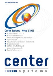 News 1/2012 - Center Communication Systems GmbH