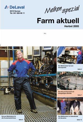 Farm aktuell Herbst 2005 (PDF - 3465 KB) - DeLaval