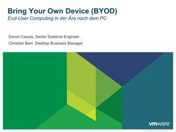 BYOD aus Sicht VMware - KFH
