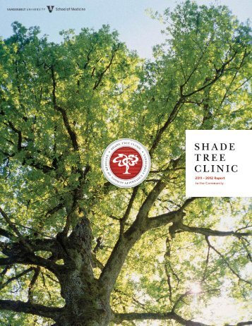 2011-2012 annual report - Shade Tree Clinic