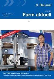 Farm aktuell Herbst 2011 (PDF - 3800 KB) - DeLaval