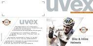 Bike & Inline Helmets - Uvex