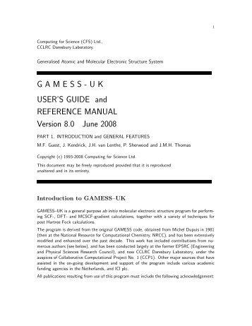 Gamess Magazines