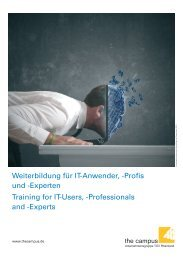 SAP Authorized - the campus GmbH