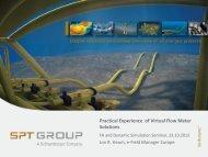 OLGA Online Virtual Flow Meter - Aker Solutions