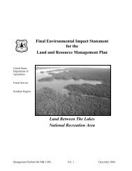 Final Environmental Impact Statement for the Land and Resource ...