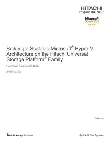 Failover clustering with microsoft hyper v iomega for Microsoft hyper v architecture