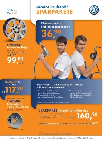SPARPAKETE SPARPAKETE - Autohaus Resch GmbH