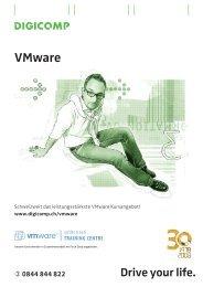 Das leistungsstärkste VMware Kursangebot in der Schweiz - Digicomp