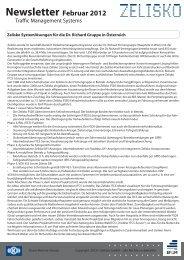 Newsletter Februar 2012 - Zelisko