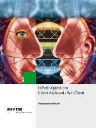 HiPath Xpressions Client Assistant / WebClient