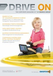 THE CORPORATE MAGAZINE OF THE SWARCO GROUP