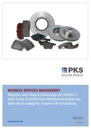 business services management - PKS Software GmbH