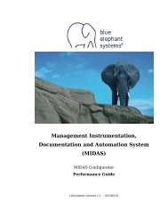 MIDAS - Blue Elephant Systems