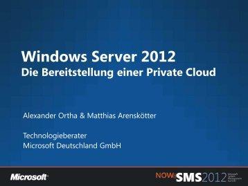 Windows Server 2012 - NET