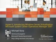 virtualisierung Präsentations