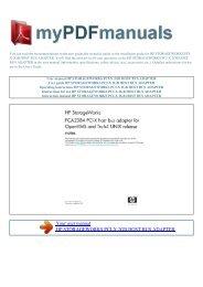 storageworks pci-x 2gb host bus adapter - 1