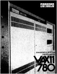 Page 1 Page 2 E K-DS780-UG-002 VAX-11/780 Diagnostic System ...