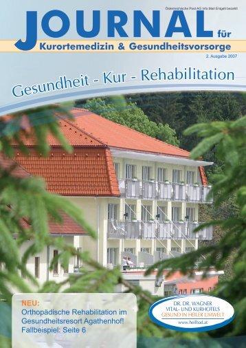 OURNAL - Kurhotel St. Josef