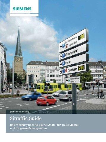 Sitraffic Guide Das Parkleitsystem für kleine ... - Siemens Mobility