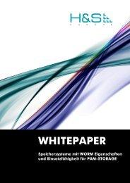 Rechtskonforme Archivierung - H&S Heilig and Schubert Software AG