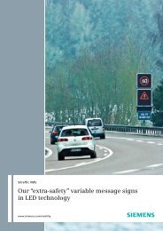 Sitraffic VMS - Siemens Mobility