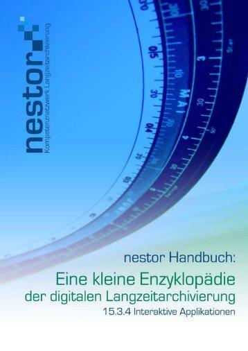 Interaktive Applikationen - nestor