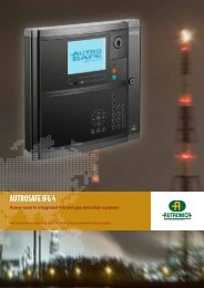 AUTROSAFE IFG 4 - Autronica Fire and Security