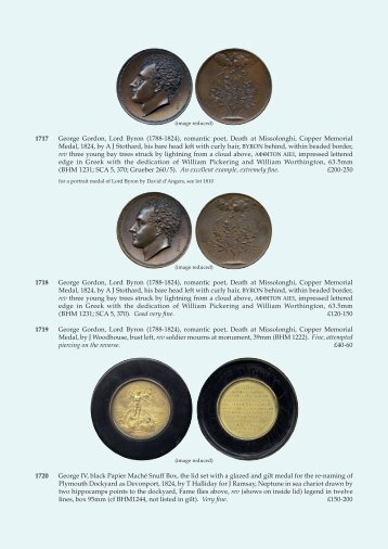 British Commemorative Medals - Baldwin's