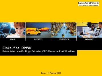 PDF (624 KB) - Deutsche Post DHL