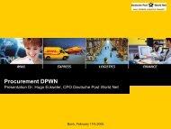 PDF (316 KB) - Deutsche Post DHL