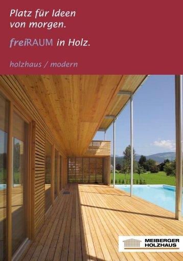 InnenLEBEN - Meiberger Holzbau