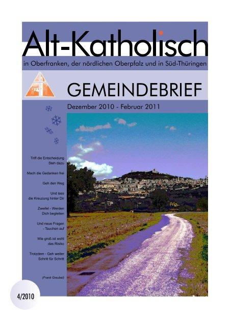 Gemeinde Oberfranken - Alt-Katholische Gemeinde in Coburg