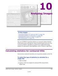 Generating graphs - mipav