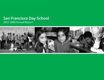 2007-2008 SFDS Annual Report - San Francisco Day School