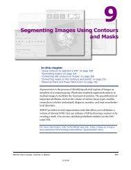 Segmenting Images Using Contours and Masks - mipav
