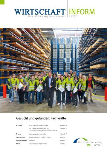 Download Newsletter Wirtschaft inform Juli 2012 (1,9
