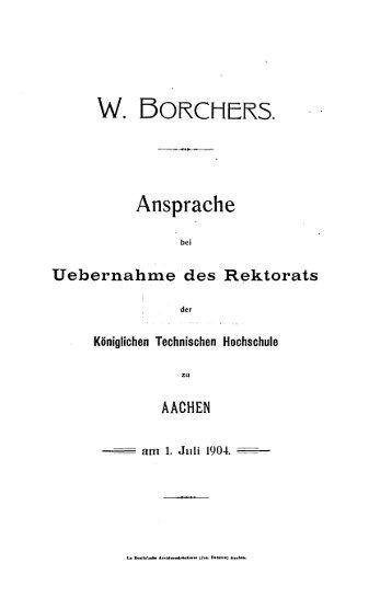 rwbhaachen - RWTH Aachen University