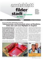 Feuerwehr Filderstadt - live - Stadt Filderstadt