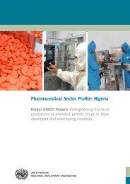 Pharmaceutical Sector Profile: Nigeria - unido
