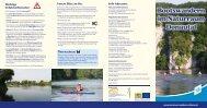 Bootswandern im Naturraum Donautal - Tourismusverband im ...