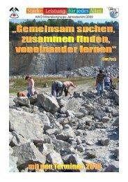 AWO-Geologen Wer sind wir - AWO Mineraliengruppe