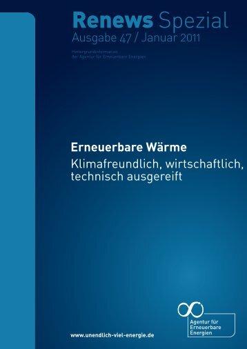 Erneuerbare Wärme - Fachverlag Schiele & Schön