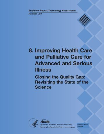 8. Improving Health Care and Palliative Care for Advanced and ...
