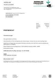 PRÜFBERICHT - Gmunden
