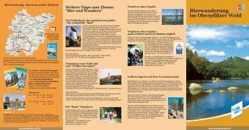 Bier und Wandern - Oberpfälzer Wald