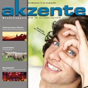 Altenkirchener ApfelKulturTage 2012 - ak-zente.net