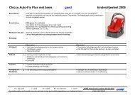 Chicco Auto-Fix Plus met basis goed kinderzitjestest 2008 - Anwb
