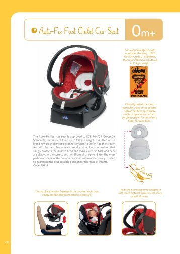 Auto-Fix Fast Child Car Seat - Chicco