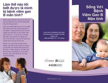 Sống Với Bệnh Viêm Gan B Mãn tính - ICHS